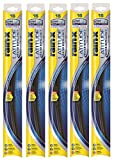 "Rain-X 5079274-2-5PK Latitude 2-IN- 1 Water Repellency Wiper Blade, 16"" (Pack of 5)"