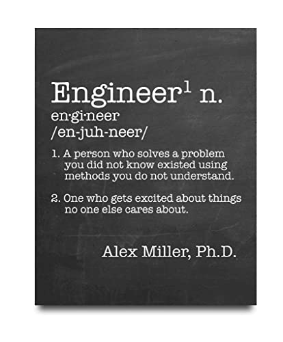 engineer definition paper print engineer poster office decor engineer gift coworker gift - What Is The Definition Of Christmas