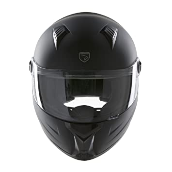 PANTHERA casco de moto integral Racer negro mate talla XL