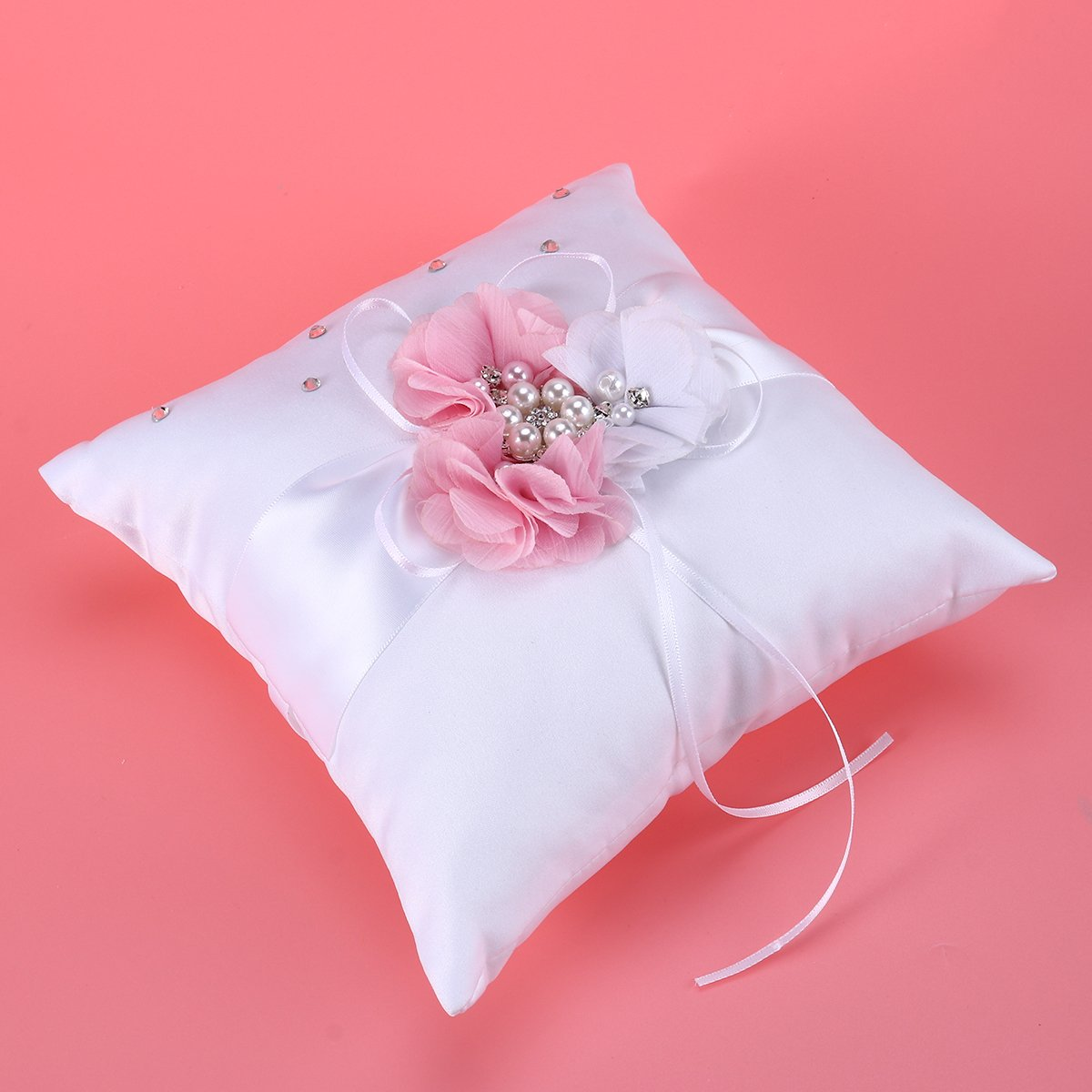 Amazon.com: NUOLUX Ring Bearer Pillow,2020cm Wedding Ring Pillow ...