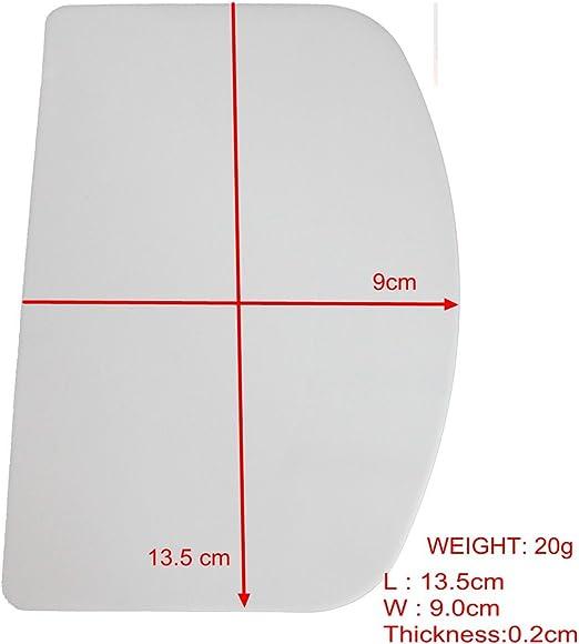 "6.5/"" X 4/"" Kitchencraft en plastique souple Bol Racloir 17 x 10 cm"