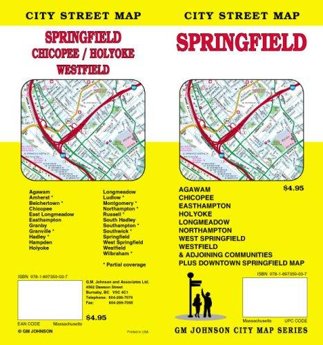 Springfield / Chicopee / Holyoke MA Street (Ma Street Map)