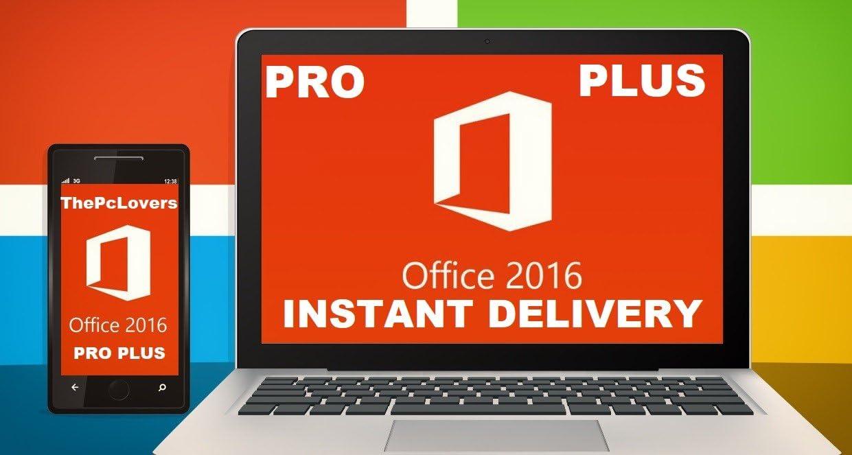 Microsoft Office 2016 Professional Plus - Digital Download - Digital Licence: Amazon.es: Hogar