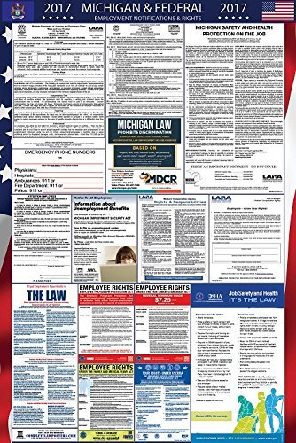 2017 Michigan and Federal Labor Law Poster