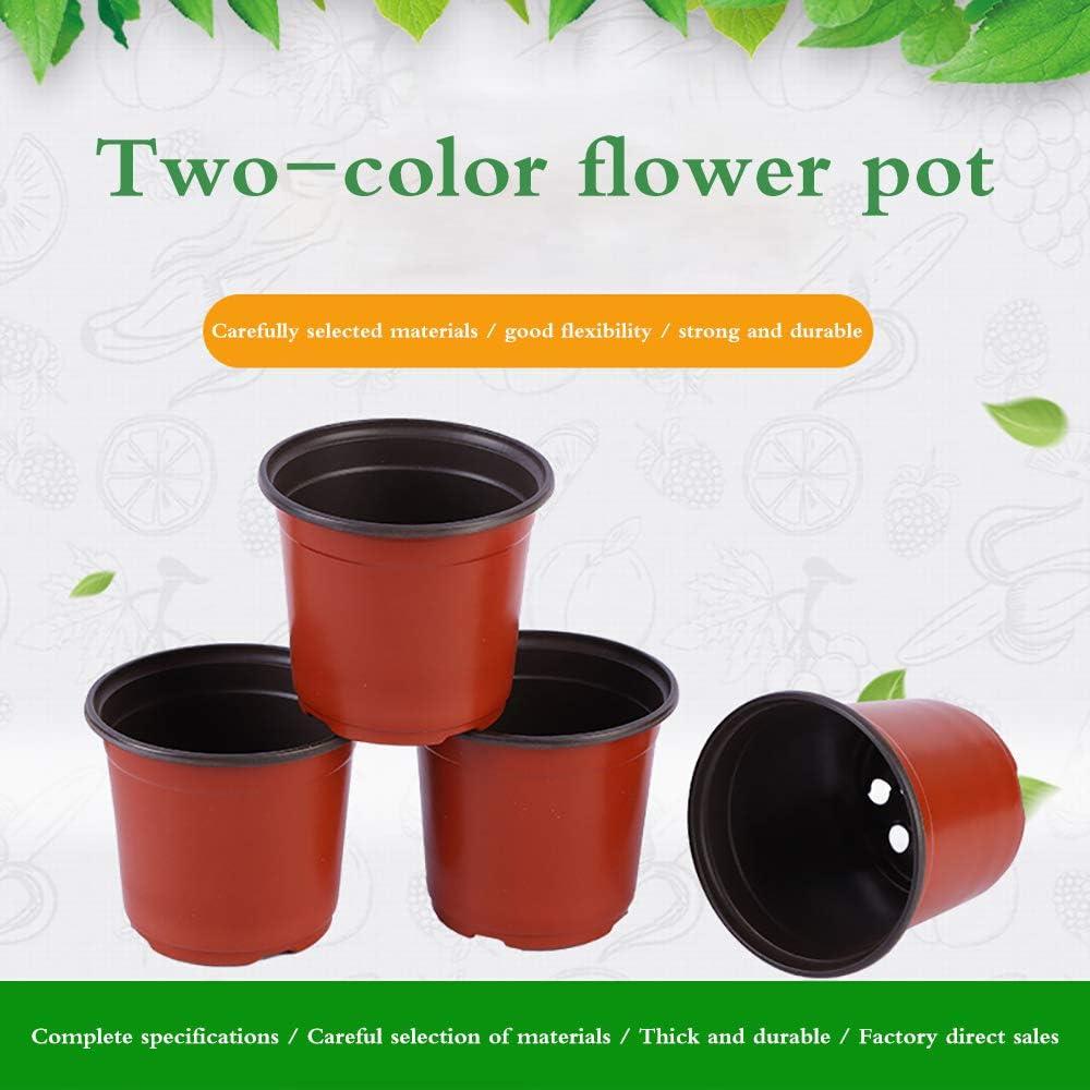 8cm 50 Piezas Macetas de Papel para vivero de Plantas de jard/ín biodegradables Cultivo ecol/ógico en el hogar Donpow Macetas de iniciaci/ón para Plantas