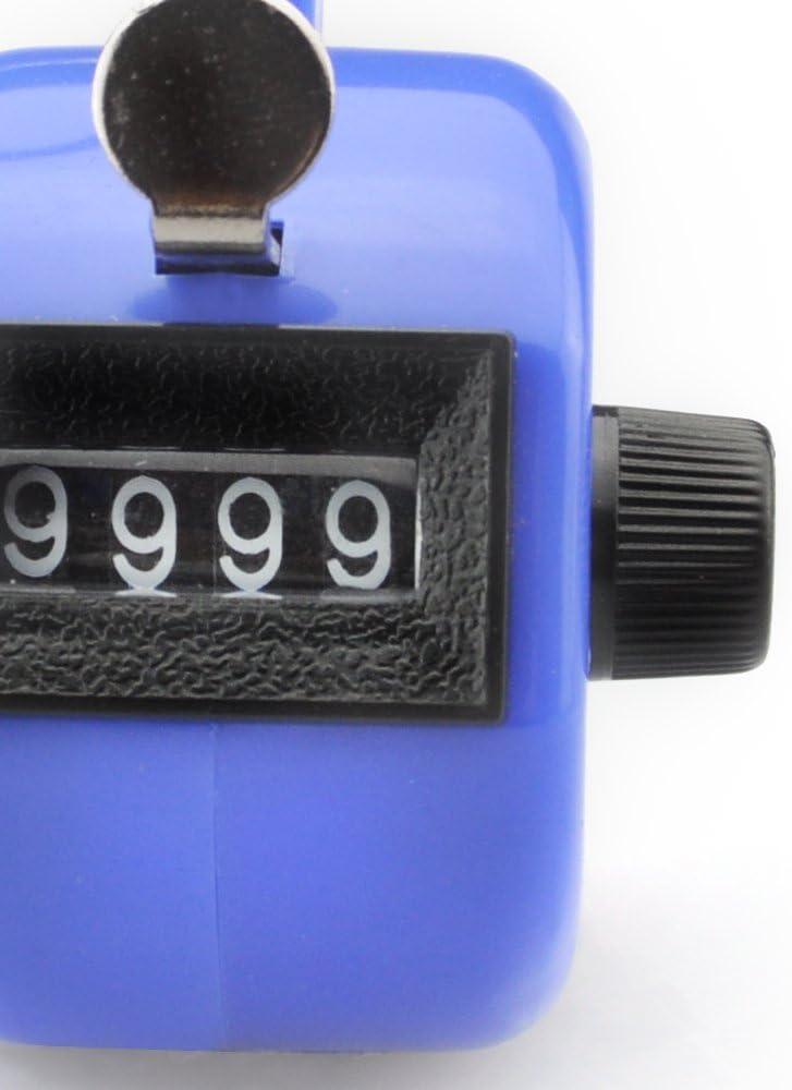 GOGO contatore Contatore Tally palmare Display a 4 cifre per Lap Sport Allenatore Evento Scolastico