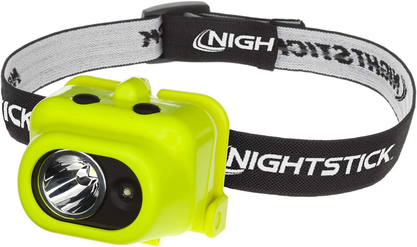 Green Nightstick XPP-5454G Intrinsically Safe Headlamp