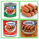 CARMELA Value Pack ! Twelve (12) individual 5 oz Cans (4-Chicken Vienna, 4-Chicken Spicy, 4-Roasted Turkey)