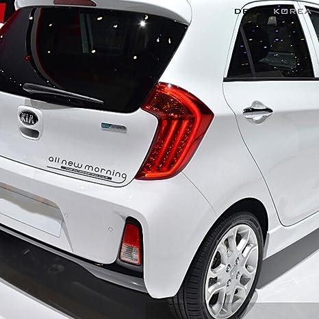 detailkorea lema emblema Decal Sticker de coche para Kia Picanto
