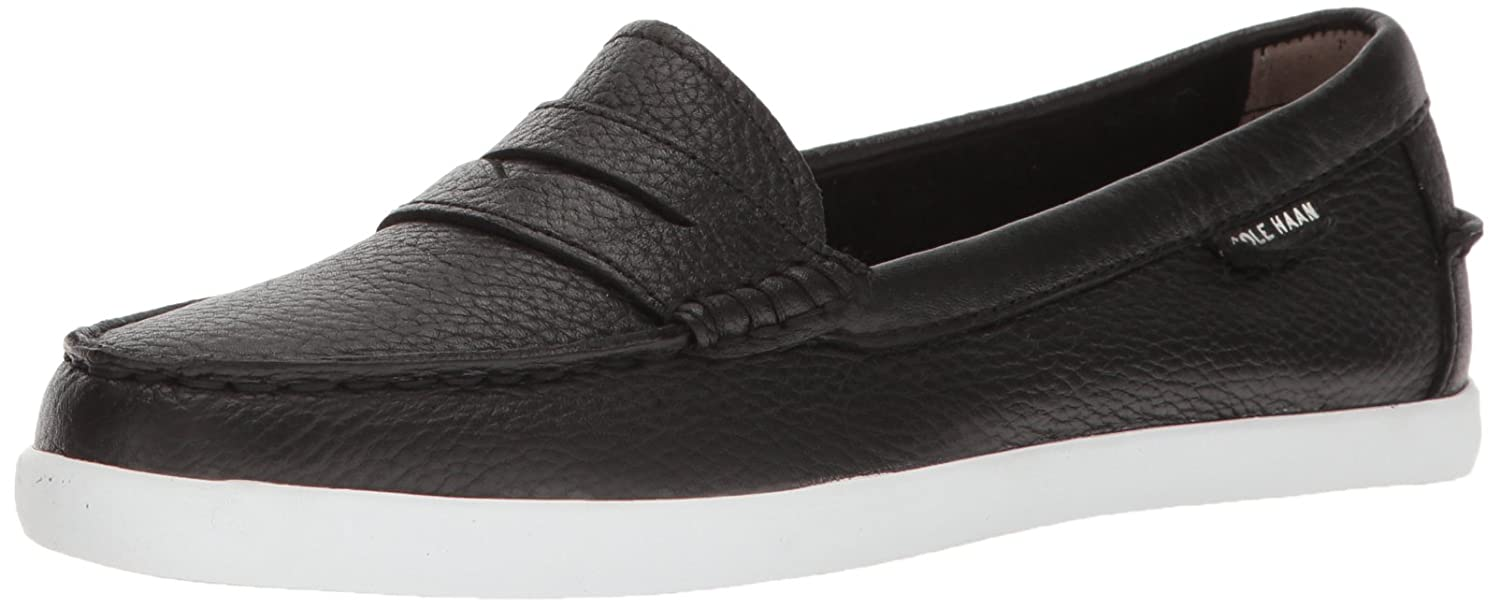 Cole Haan Women's Pinch Weekender Penny Loafer B01N9T3WZO 7 B(M) US|Black White Stripe