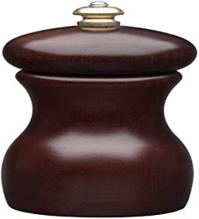 product image for Fletchers' Mill Marsala Collection Salt Mill, Walnut - 4 Inch, Adjustable Coarseness Fine to Coarse, MADE IN U.S.A.