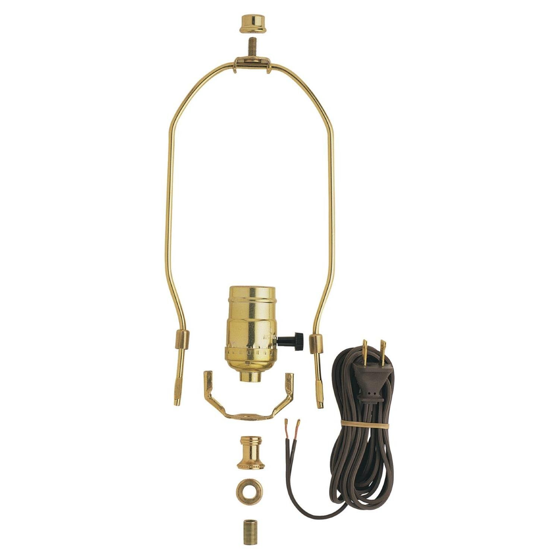 Amazon.com: Westinghouse 70268 Make-A-Lamp 3-Way Socket Kit: Home ...