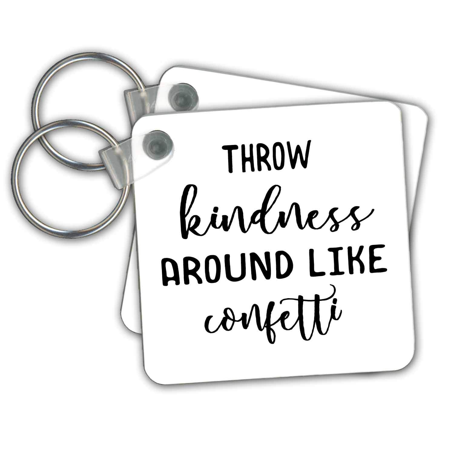 Amazon Com 3drose Stamp City Typography Throw Kindness