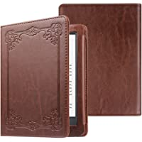 Fintie Folio Case for All-new Kindle (10th Generation, 2019) / Kindle (8th Generation, 2016) - Book Style Premium PU Leather Shockproof Cover with Auto Sleep/Wake, Vintage Antique Bronze