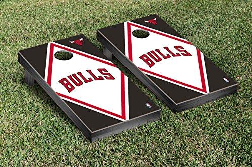 Chicago Bulls NBA Basketball Cornhole Game Set Diamond Version by Victory Tailgate