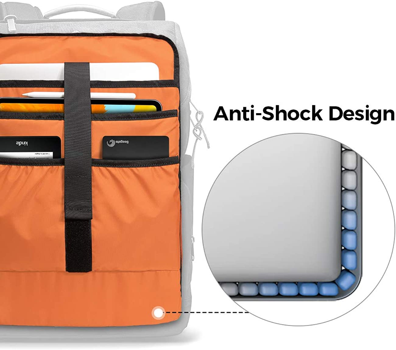 tomtoc Vintage Travel Backpack Business Durable Laptops Backpack with Charge Port Waterproof Computer Book Bag for Women /& Men Fits up to 15.6-inch Laptop Notebook /& 12.9//11 iPad