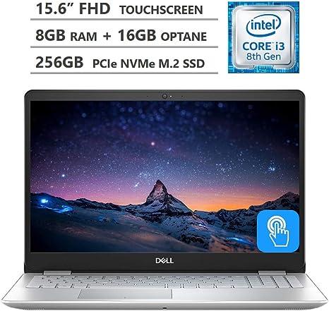 Amazon Com Dell Inspiron 15 5000 Laptop 15 6 Full Hd Touchscreen Intel Core I3 8145u Processor Up To 3 90ghz 8gb Ram 256gb Ssd 16gb Optane Memory Backlit Keyboard Hdmi Wireless Ac Bluetooth Windows 10 Computers