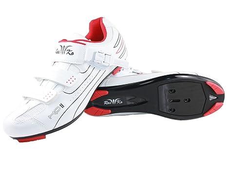 Raiko Sportswear HP2?Scarpe per bici da corsa, bianco, 45