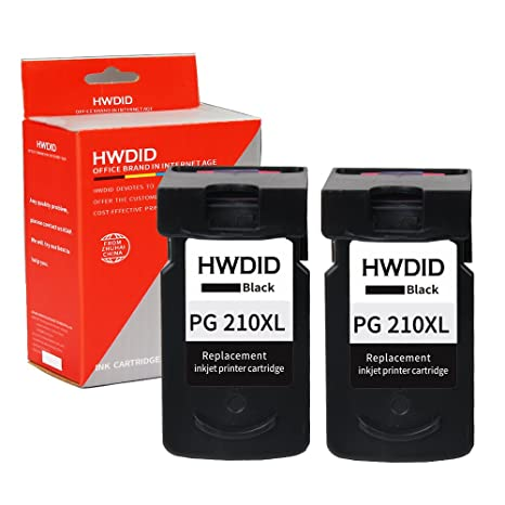 HWDID Remanufactured Pg 210 Xl Ink Replacement For PG Cartridges With