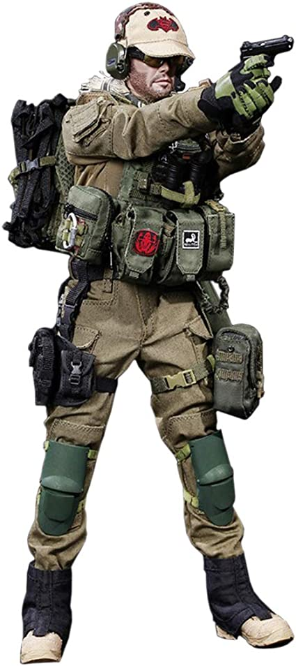 1//6 Scale Soldier Accessories Military Action Figures Load Belt