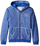 Image of True Religion Little Boys' French Terry Hoodie, Marled Royal Blue, 6