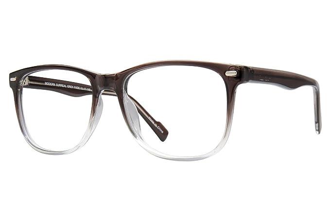 29444e0210 Lunettos Jesse Mens Eyeglass Frames - Grey Fade  Amazon.ca  Clothing ...