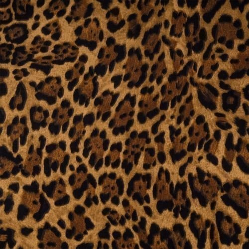 Leopard Animal Print Tiers or Curtain Panels 43