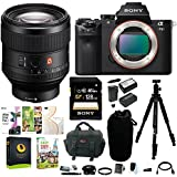 Sony Alpha a7II Mirrorless Digital Camera w/ FE 85mm f/1.4 GM Lens & 128GB SD Card Bundle