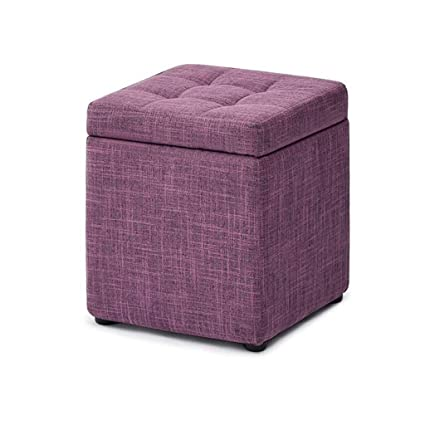Marvelous Amazon Com Grjxmd Square Poffee Ottoman Storage Footstool Ocoug Best Dining Table And Chair Ideas Images Ocougorg