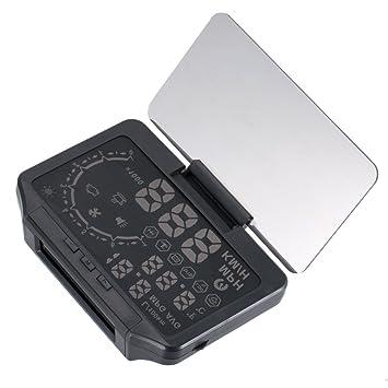Coomir 2 en 1 Coche Hud y Monitorización de la Presión de los neumáticos Head Up Display Speed Warning GPS Projector Tool: Amazon.es: Electrónica