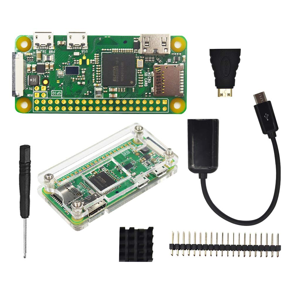 Amazon.com: Raspberry Pi Zero W Kit: Computers & Accessories