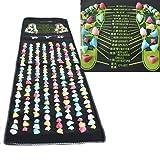 ZJchao Reflexology Walk Stone Foot Massage Mat (1.7m x0.35m)