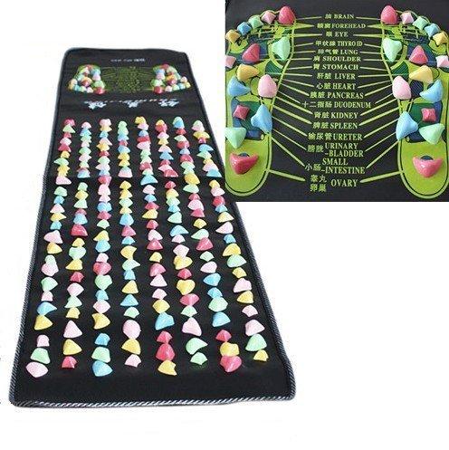 ZJchao Reflexology Walk Stone Foot Massage Mat (1.7m x0.35m) by Yosoo