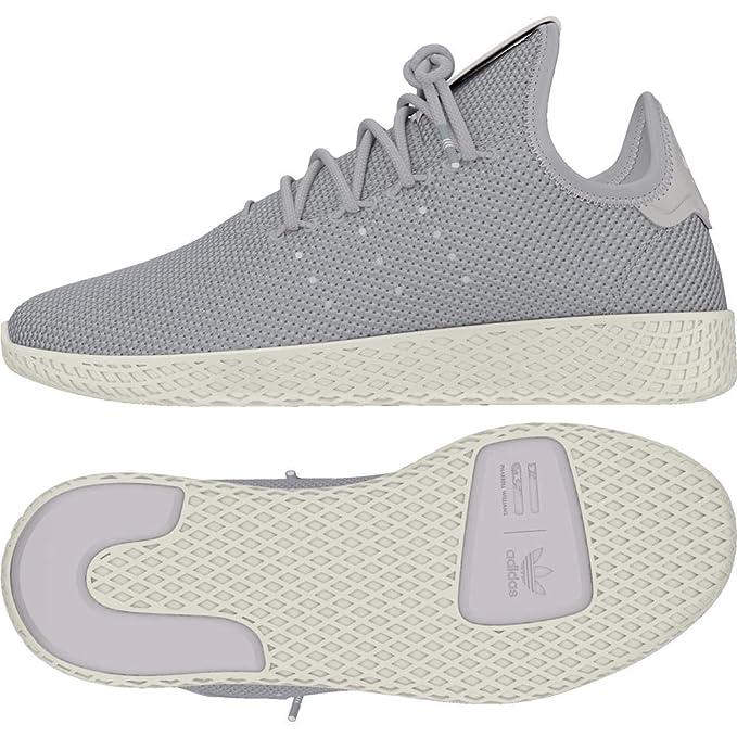 d6bb80b10 Amazon.com  Adidas Pharrell Williams Tennis Hu Womens Sneakers Grey   Clothing