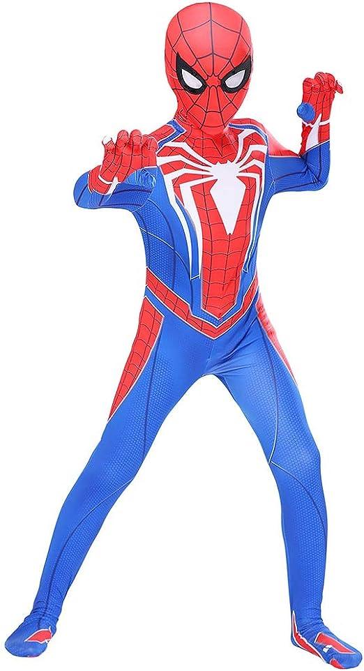 Disfraz Spiderman Niño Adulto,Disfraz Halloween Carnaval Cosplay ...
