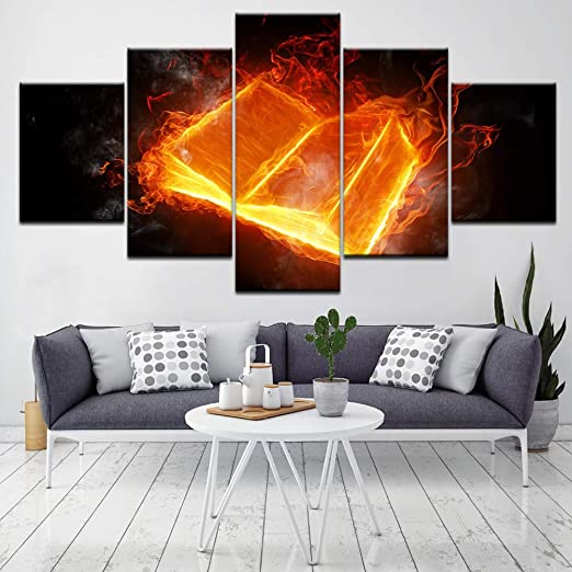 Art HD Print Home Décor What is Life Paintings Wall Poster Picture