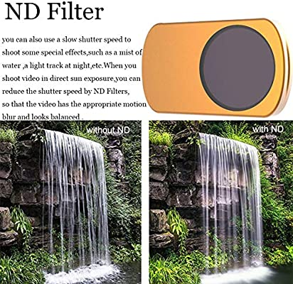 Xingsiyue Lens Filter for DJI Mavic Mini Drone Ultraviolet Ultra Slim Optical Glass CPL+ND8+ND16 Filter