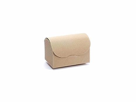 50 Caja a estuche Natural rústico Maxi, cajas regalo