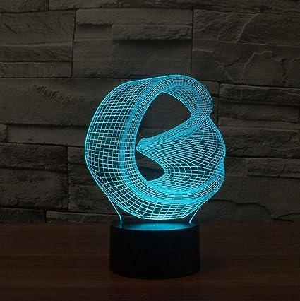 Luz De Noche 3D Cielo De Luz De Noche Luces De Túnel Infinito ...