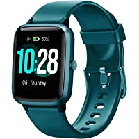 """YUNSYE Fitness Trackers, Smart bracelet,1.3"""" Touch Screen, Activity Tracker with Heart Rate Monitor, IP68 Waterproof…"""