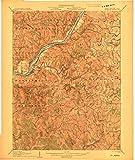 YellowMaps Saint Marys WV topo map, 1:62500
