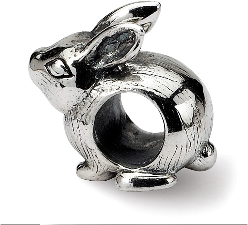 Sterling Silver Reflections Bunny Bead