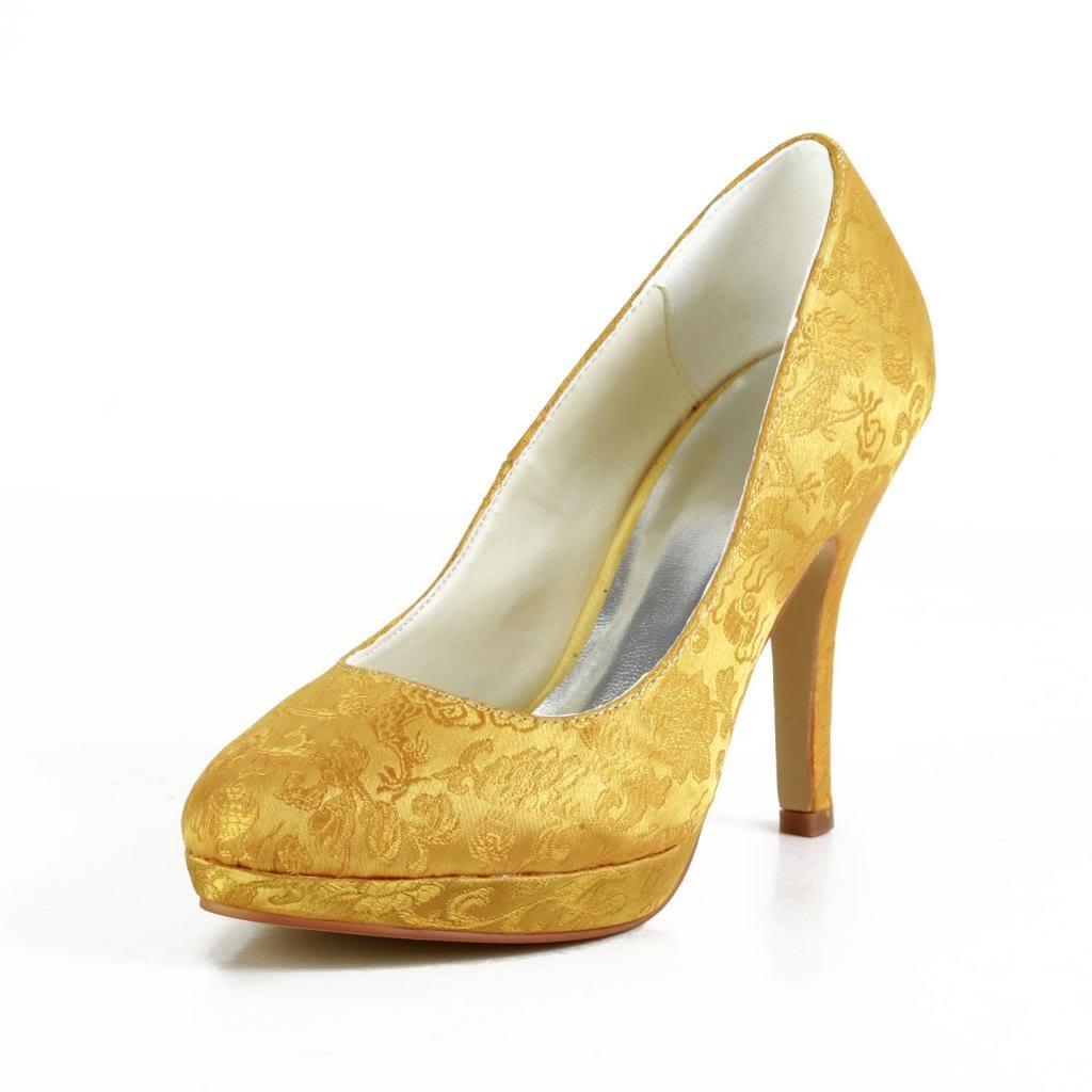 Jia B012OBQCEK Jia Wedding 3701H chaussures de mariée mariage mariée Escarpins Escarpins pour femme Or 4cee419 - jessicalock.space