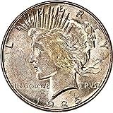 1925 S Peace Dollars Dollar AU55 PCGS