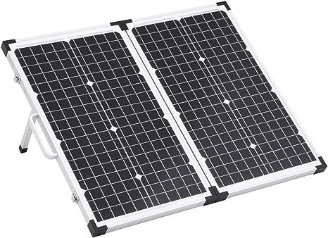 Festnight Maletín con Panel Solar Plegable Panel Solar ...