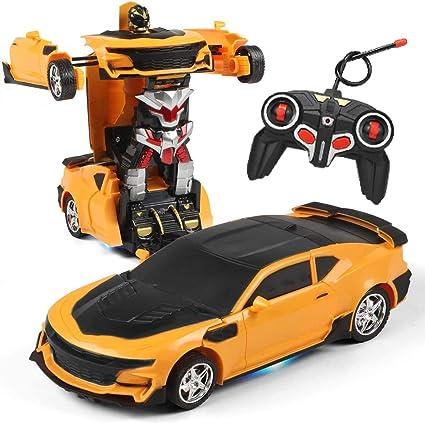 Transformer RC Radio Remote Control Robot Vehicle Deform Car Kids Boy Toy Gifts