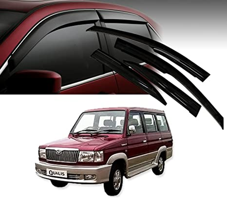Autopearl Car Door Visor Side Window Deflector For Toyota Qualis