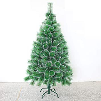 DULPLAY Eco-Friendly Artificial Christmas Tree, Flocked Snow Premium Spruce  hinged with Solid Metal - Amazon.com: DULPLAY Eco-Friendly Artificial Christmas Tree, Flocked