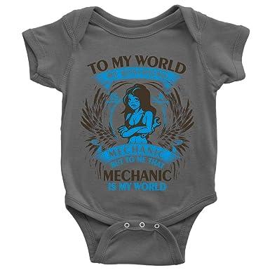Amazon.com: NHPSHOP Traje de bebé mecánico, My Boyfriend es ...