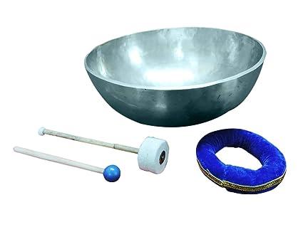 bowlsofnepal F780 11 Long Red Felted Mallet-Goner-Striker for Tibetan Singing Bowl//Gong Hand Made in Nepal